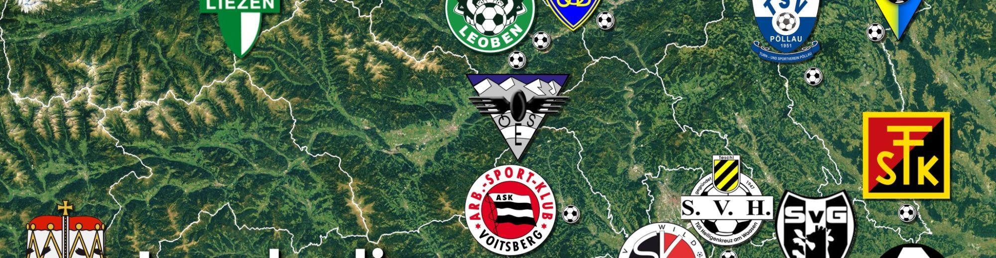 Steirische Landesliga, Fußball in Graz-Umgebung, ELO und Statistiken
