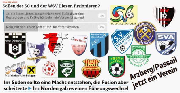 Fusion Von Fussballvereinen In Der Steiermark Steirische
